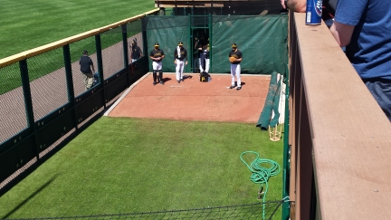 Gerrit Cole warms up before his start against the Blue Jays.
