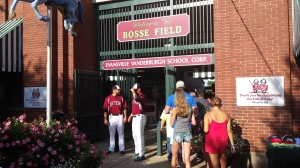 The entrance to Bosse Field.